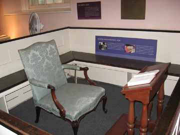 Washingtons Pew - St. Paul's Chapel
